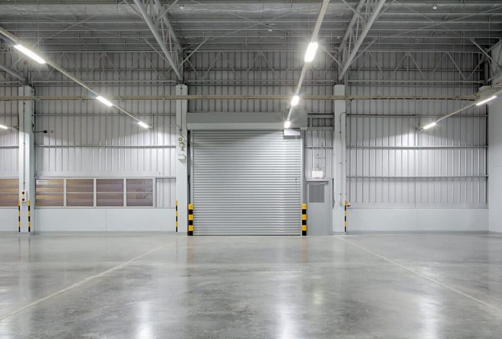 Beautiful smooth finish concrete floor